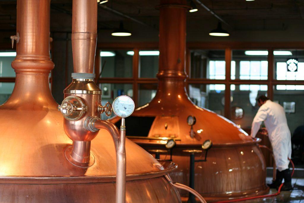 desinfección cerveceria 1024x683 - Limpieza y desinfección, Industria cervecera