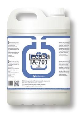 Detergente Higienizante Clorado Espumante IA-701