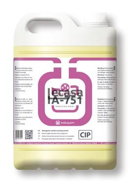 Detergente Caústico Antiespumante IA-751, 20 LITROS