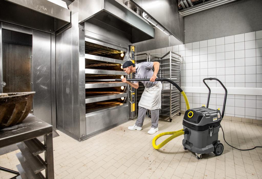 Aspirador Karcher profesional especial para altas temperaturas NT 401 Tact Bs 4 1 1024x699 - Suministros y Equipamiento para Cafeterías y Panaderías