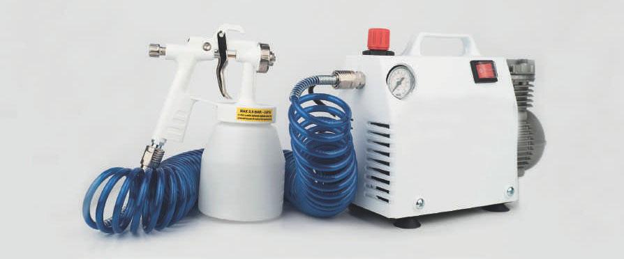 Conoce nuestro Kit pulverizador nebulizador para desinfectante Vircol 2 - ¿Qué son los pulverizadores eléctricos?