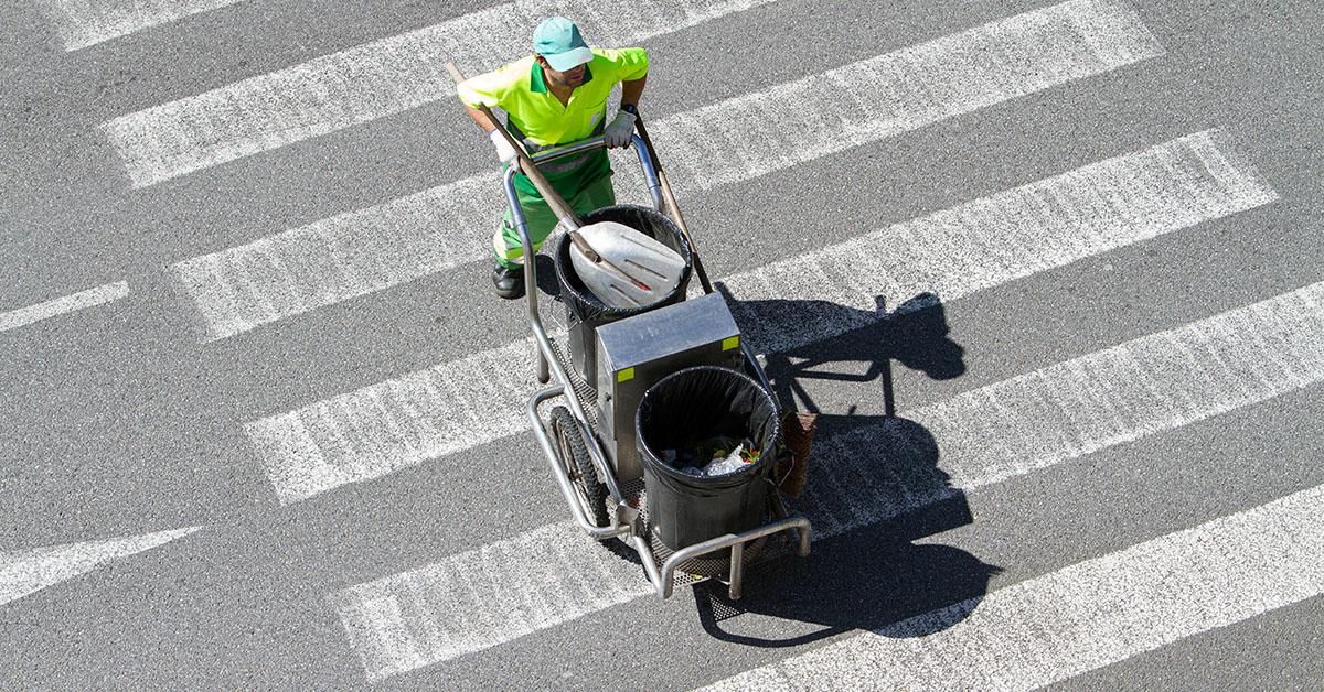 carros de barrendero - Carros de barrendero para calles y grandes superficies
