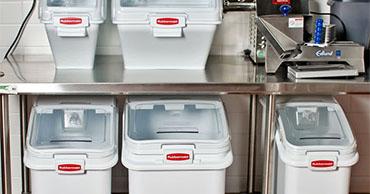 contenedor alimentos rubbermaid - Productos de Limpieza y desinfección