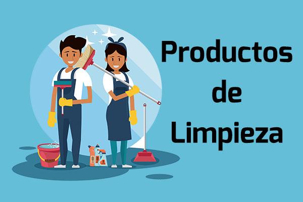 productos de limpieza - Inicio