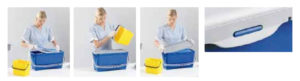 sistema lcm limpieza con microfibra